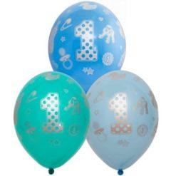 Шарики гелиевый на первый день рождения