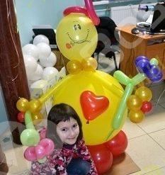 Фигура сердечный клоун