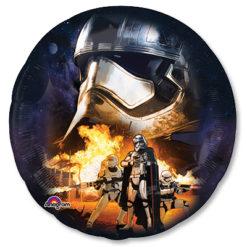 Фольгированный гелиевый шар с пехотинцем